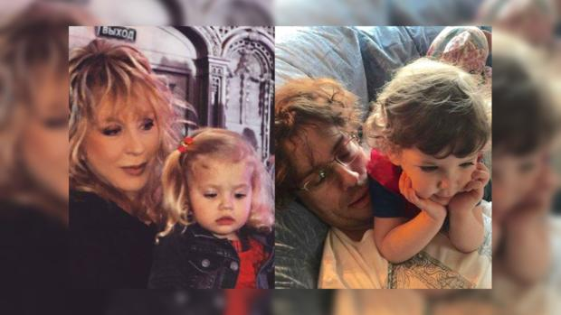 «Малышка копия мамы»: пользователей умилило фото Аллы Пугачевой с дочкой на руках