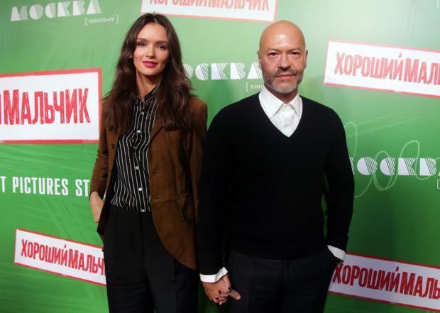 Андреева поддержала Бондарчука напремьере его продюсерского проекта «Хороший мальчик»