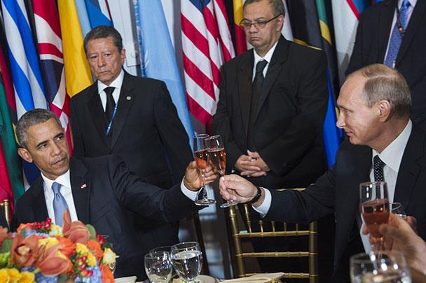 Путин думает о«всестороннем» восстановлении отношений сСША