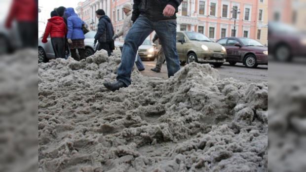 Заминувшие дни встоличном регионе выпало 13см снега