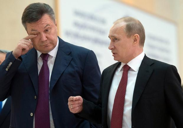 Путин сталкивался сЯнуковичем поповоду дела Манафорта