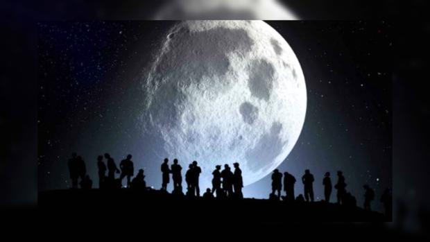 Москвичи и граждане Московской области 14ноября смогут увидеть большую Луну