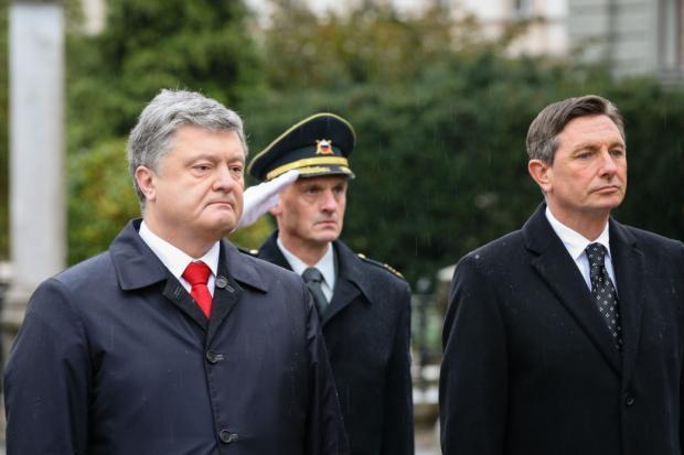 Порошенко обвинил Российскую Федерацию в«гибридном присвоении истории»