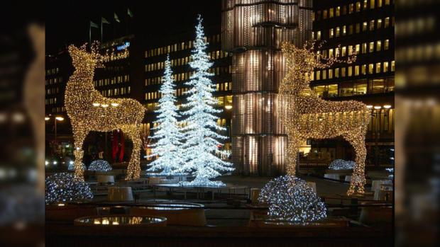 ВШвеции хотят запретить рождественскую иновогоднюю иллюминацию