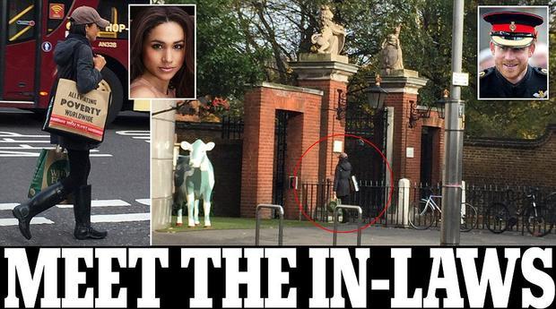 Винтернете появились интимные фото девушки принца Гарри