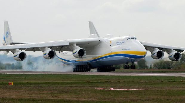 Происшествие ваэропорту Лейпцига: зажегся украинский самолет-гигант «Мрия»