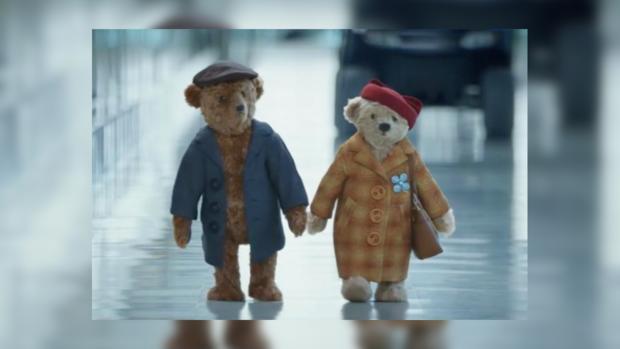 Аэропорт Хитроу выпустил трогательный ролик про плюшевых медведей
