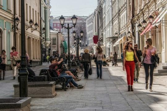 Столешников проулок стал самой дорогой улицей в Российской Федерации