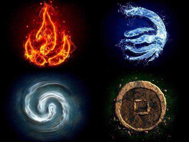 вода земля огонь воздух картинки