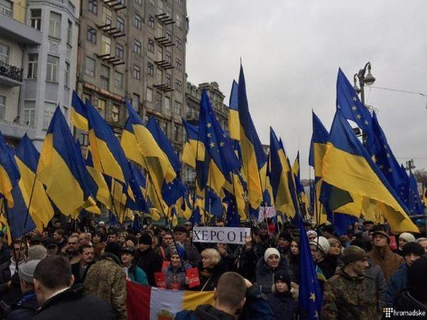 Саакашвили призвал в будущем 2017г. разогнать Раду