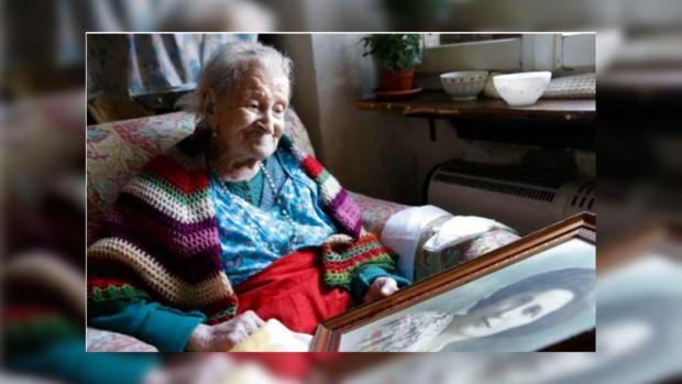 Старейшая жительница планеты итальянка Эмма Морано отметила 117-й день рождения