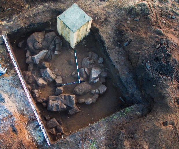Наострове Хортица под асфальтом отыскали комплекс, основанный 3500 лет назад