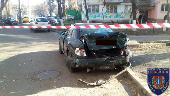 Жуткое ДТП вОдессе: есть пострадавшие