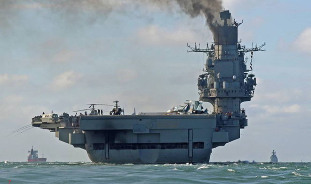 Русские истребители с«Адмирала Кузнецова» перебазированы набазу вСирии