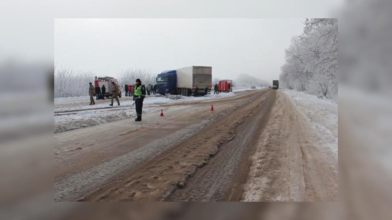 НаЖитомирщине врезультате дорожно-траспортного происшествия пострадали неменее 15 человек