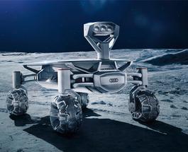 Ради приза в $30 млн Audi отправляет на Луну высокотехнологичного робота на колесах