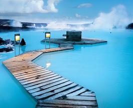 Снимки туристов: Голубая лагуна - уникальный геотермальный источник в Исландии