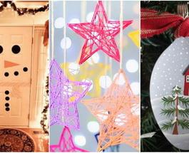 Новогодние украшения своими руками: 18 креативных идей