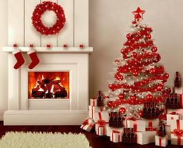 Как украсить новогоднюю елку в год Петуха 2017: украшение елки на Новый Год