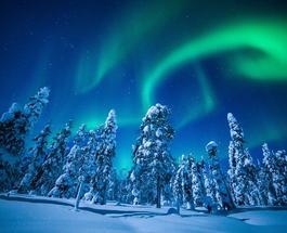 Снимки туристов: Лапландия - самое волшебное место для празднования Рождества