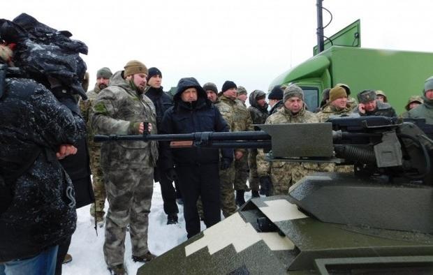 «Укроборонпром» продемонстрировал видео огневых испытаний «Фантома» впроцессе ледяного дождя