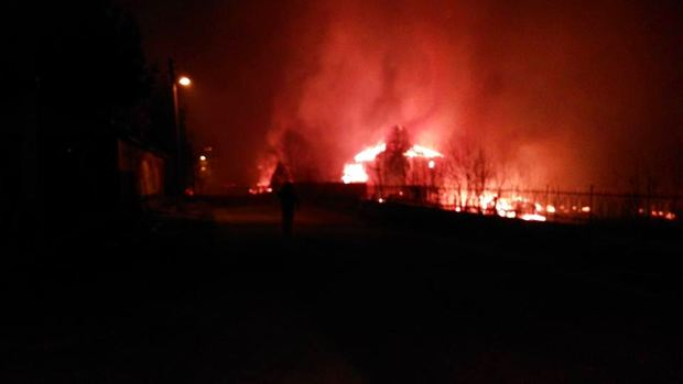 Взрыв цистерн сгазом уничтожил полсела вБолгарии