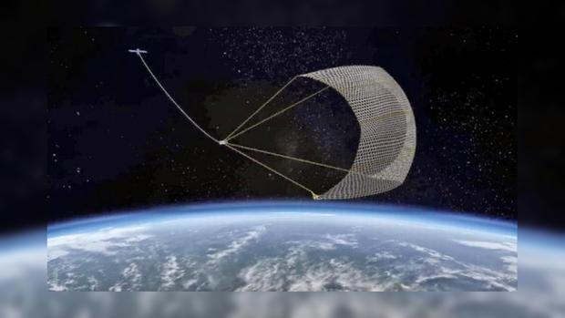 Япония попробует инновационный способ уборки космического мусора сземной орбиты