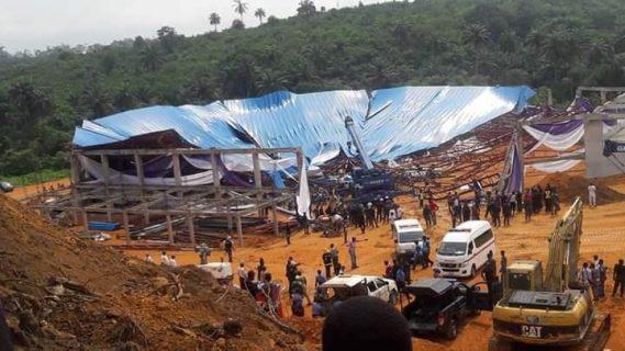 ВКении из-за обрушения церкви произошла массовая смерть людей