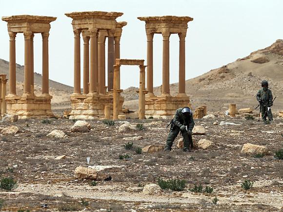 Впроцессе боев близ Пальмиры могло использоваться химоружие— защитники прав человека