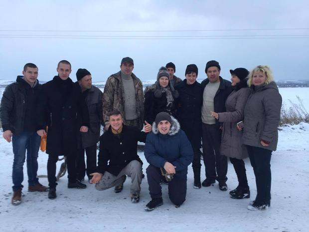 Автомобиль сНадеждой Савченко слетел сдороги вОдесской области