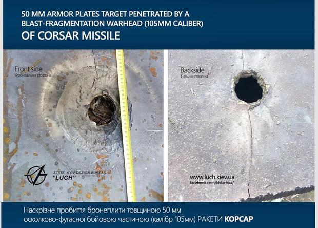 ВУкраине испытали новый ракетный комплекс