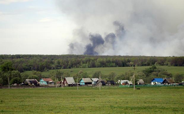 Мощнейший взрыв прогремел вБашкирии, очевидцы утверждают о 2-х погибших
