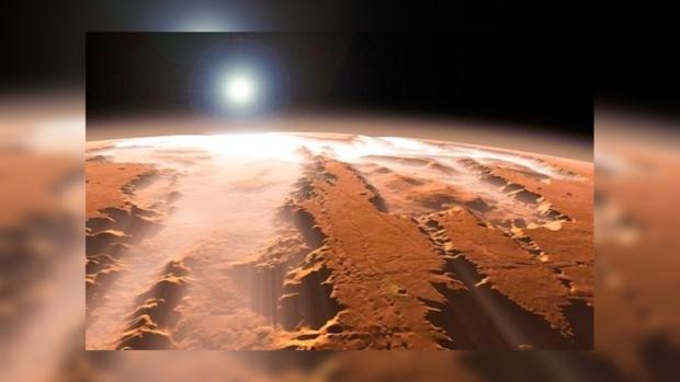 Ученые хотят построить наМарсе «ледяные дома