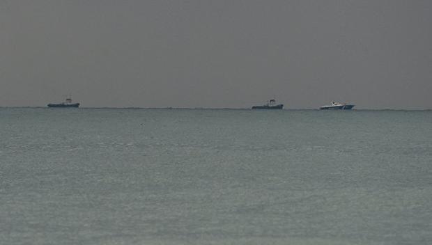 Первые кадры спасательной операции врайоне крушения Ту-154