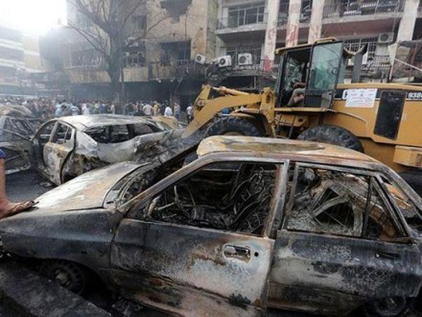 Количество жертв взрывов вБагдаде возросло до21