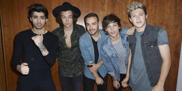 One Direction возглавили рейтинг высокооплачиваемых звезд Европы