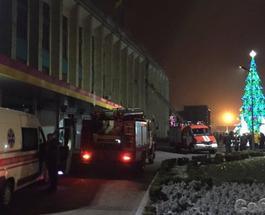 В новогоднюю ночь в мэрии в Днепропетровской области произошел пожар