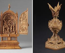 Это надо видеть: уникальные готические миниатюры из самшита