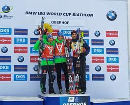 Кубок мира по биатлону: немцы лишили Фуркада золота в масс-старте
