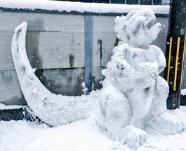 «У них там своя атмосфера»: креативные японские снеговики взорвали социальные сети