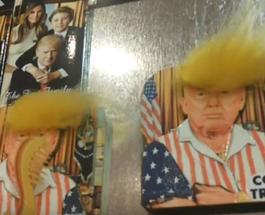 Сколько стоит причесать Трампа: в США бум на сувениры с новым президентом