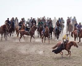 В Афганистане во время игры с обезглавленной козой прогремел взрыв на стадионе