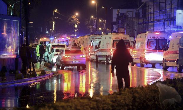 Теракт вночном клубе вСтамбуле— 39 человек погибли, 69 получили ранения