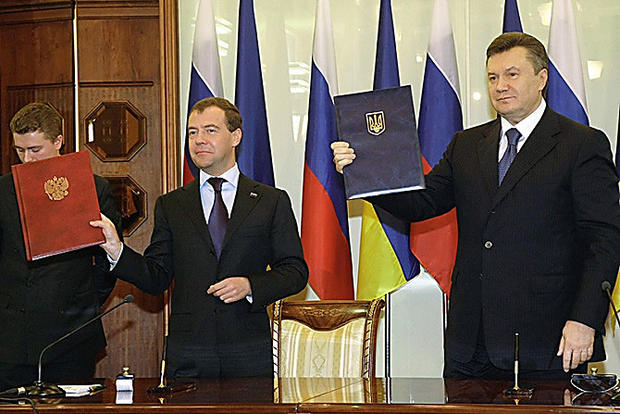 Киев посчитал госизменой соглашения оЧерноморском флоте вКрыму