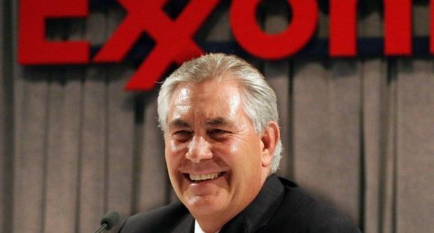 Кандидат напост госсекретаря США откажется отдоли вExxonMobil