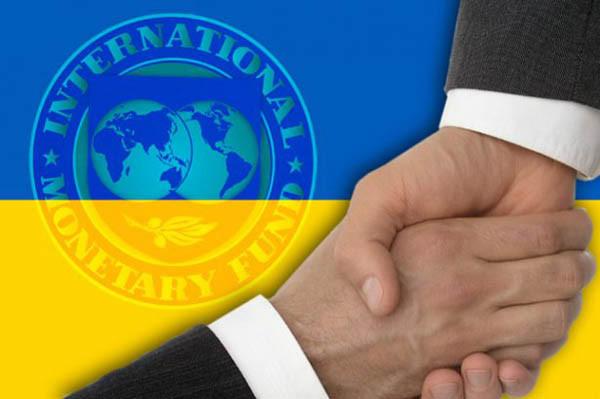 МВФ уменьшает объем снобжения деньгами Украинского государства