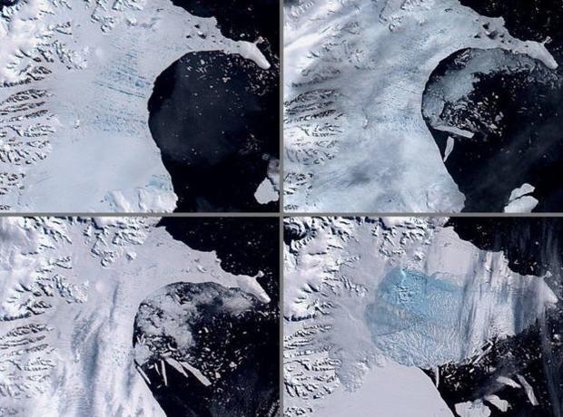 Вближайшие дни отАнтарктиды отколется огромный айсберг