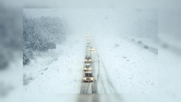 ГСЧС: вУкраинском государстве 6-8января ожидаются сильные снегопады иметели
