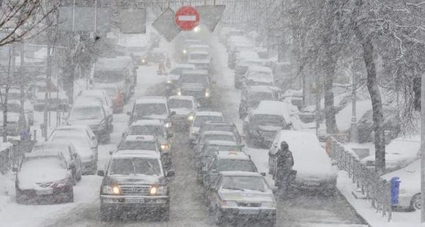На автотрассе «Одесса-Рени» образовались пробки