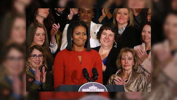 Мишель Обама выступила с прощальной речью в Белом доме